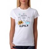 Camiseta Mujer Lo nuestro tiene química