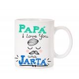 Taza  I love you una jarta papa