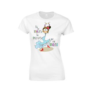 Camiseta mujer No me Toques las Palmas