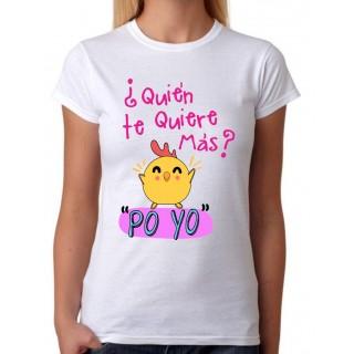 Camiseta mujer Po Yo