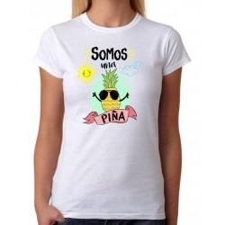 Camiseta Mujer Somos una Piña
