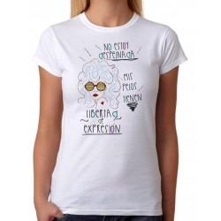 Camiseta No estoy despeinada