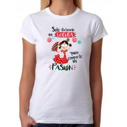 Camiseta Solo entiende mi locura quien comparte mi pasion . Flamenca