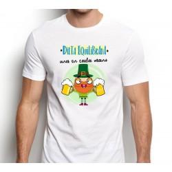 Camiseta Hombre Dieta Equilibrada