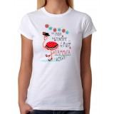 Camiseta Mujer No sabía que ponerme y me puse flamenca
