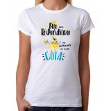 Camiseta mujer Bebe con responsabilidad no derrames ni una gota