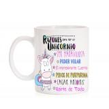 Taza Razones para ser un unicornio