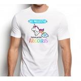 Camiseta hombre No Molestar Fabricando Arcoiris