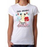 Camiseta Mujer Fuera Unicornios somos muy flamencas