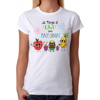 Camiseta No tengo el Kiwi para Macedonias