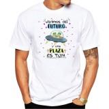 Camiseta Venimos del  Futuro y una plaza es tuya
