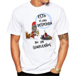 Camiseta Esto es una Despedida no un cumpleaños