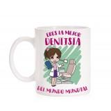 Taza Dentista mujer