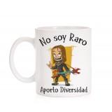 Taza No soy Raro aporto diversidad
