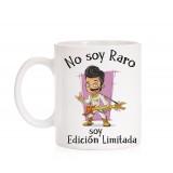 Taza No soy Raro soy edición limitada