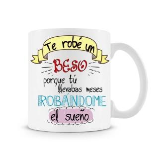 Taza Te Robé un Beso
