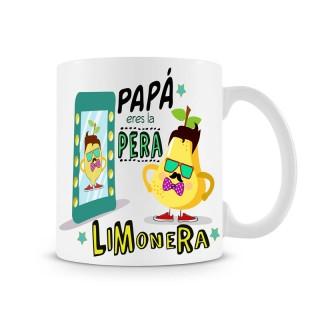 Taza Papá eres la pera limonera