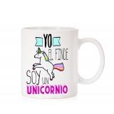 Taza Yo el Finde soy un Unicornio