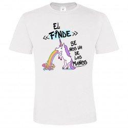 Camiseta hombre El Finde se nos va de las Manos