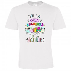 Camiseta Soy la Oveja Arcoiris de la Familia