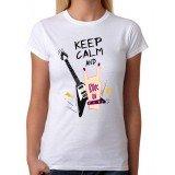 Camiseta Keep Calm Rock On