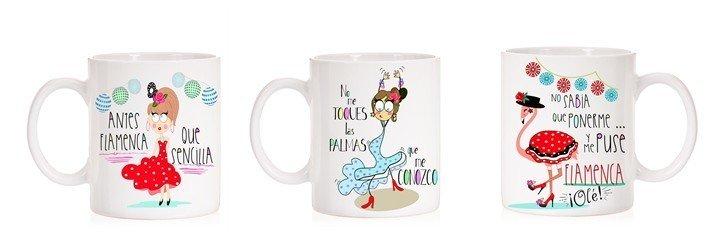 Tazas Flamencas